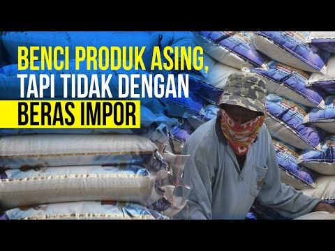 Indonesia Teruskan Kontrak Impor Beras dari Thailand