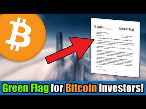 BREAKING: US Banks Just Gave the GREEN LIGHT to Cryptocurrency Investors Going into 2021!