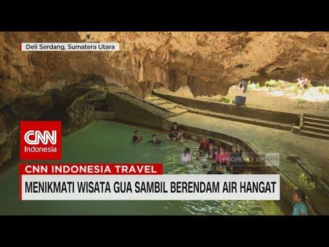 Menikmati Wisata Gua Sambil Berendam Air Hangat