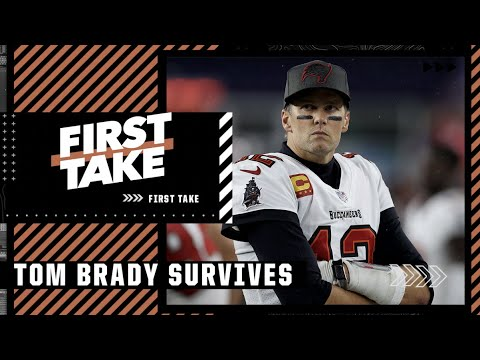 Stephen A. reacts to Tom Brady surviving the Patriots in return to Gillette Stadium | First Take