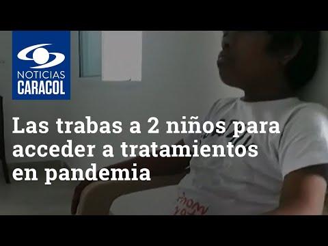 Las trabas a dos niños en Barranquilla y Cartagena para acceder a tratamientos en medio de pandemia