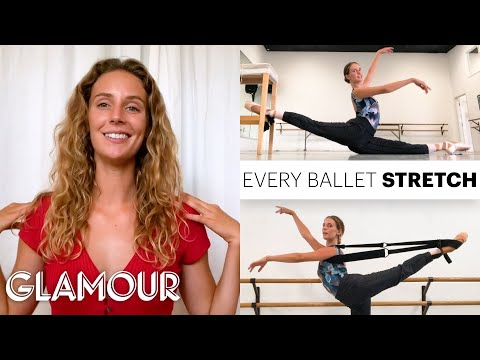 Every Stretch Pro Ballerina Scout Forsythe Does Before and After Class | On Pointe | Glamour