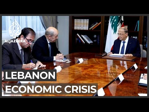 French foreign minister in Lebanon to push reform