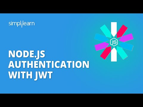 Node.js Authentication With JWT | Node JWT Authentication Example | NodeJS Tutorial | Simplilearn