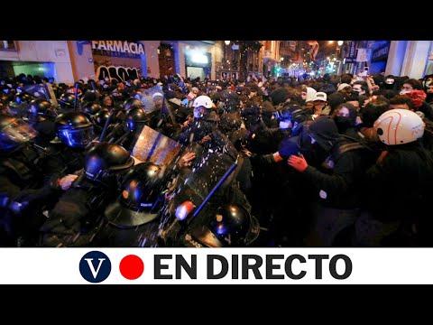 DIRECTO: Sexto día consecutivo de protestas en Barcelona