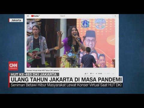 Gelaran Virtual HUT Ke-493 DKI Jakarta