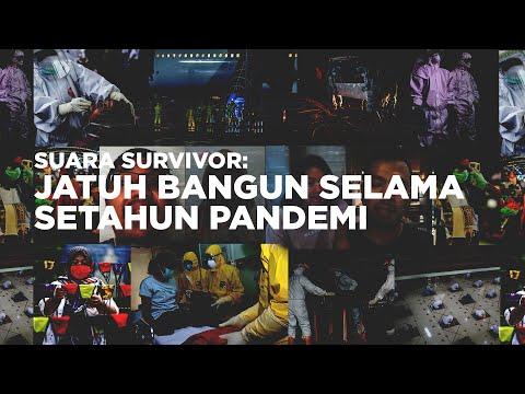 Suara Survivor: Jatuh Bangun Satu Tahun Pandemi | Katadata Indonesia