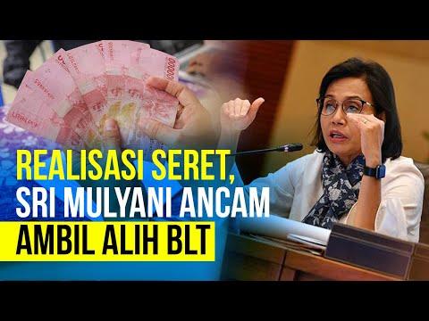 Realisasi Seret, Sri Mulyani Ancam Bakal Ambil Alih BLT
