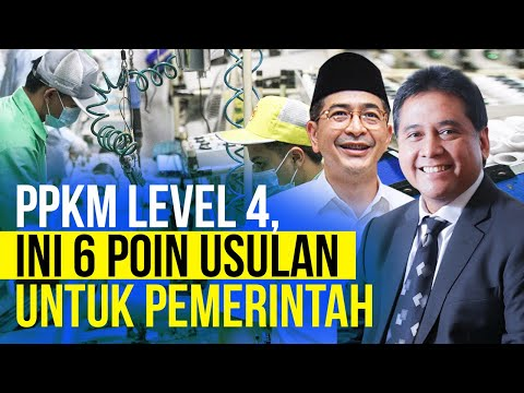 Soal PPKM Level 4, Kadin dan Apindo Layangkan 6 Usulan ke Pemerintah