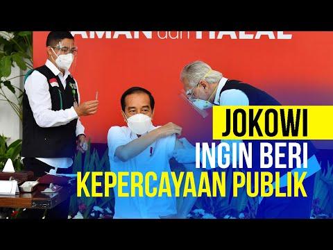 Jadi Penerima Vaksin Pertama di Indonesia, Cara Jokowi Beri Kepercayaan Publik