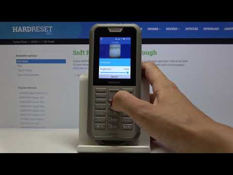 How to Set Up Screen Timeout in NOKIA 800 Tough – Display Settings