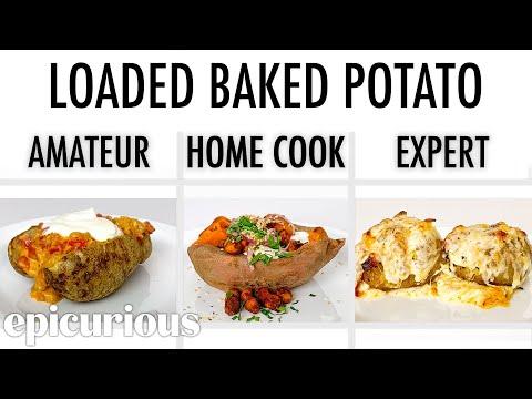 4 Levels of Baked Potato: Amateur to Food Scientist   Epicurious