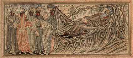 Mohammed on his deathbed