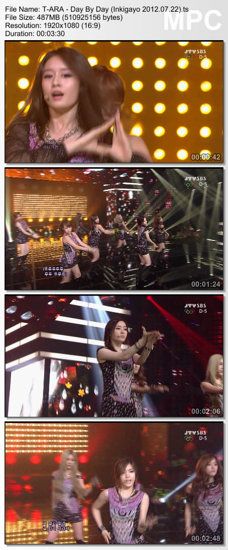 day by day t ara 1080i vs 1080p
