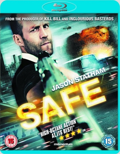 Safe 2012 BluRay 480p 300MB Dual Audio ( Hindi – English ) MKV