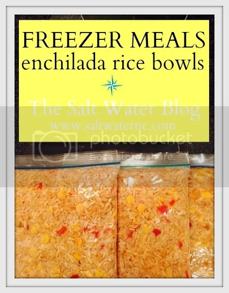 Freezer Meal | Enchilada Rice Bowls | Crock Pot Recipes | Chicken Dinner