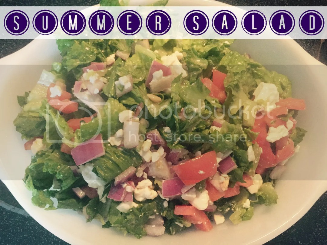 Sofia's Summer Salad | Summer Recipes at The Salt Water Blog