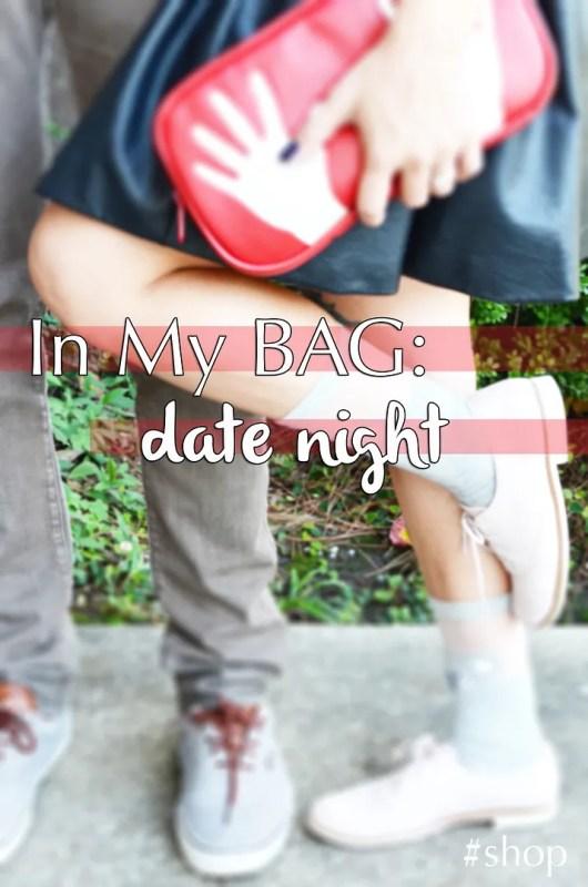 Date night: in my bag. #shop