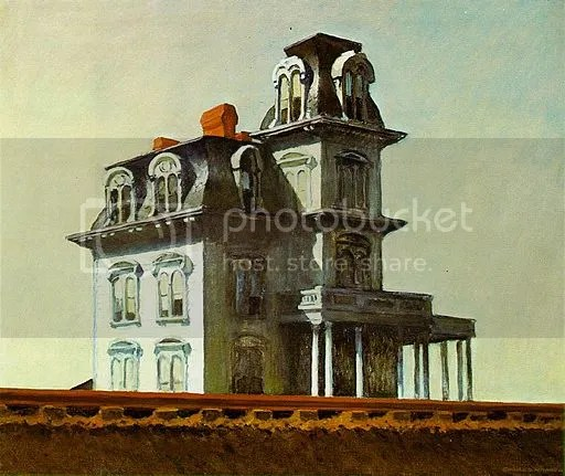 The house by the railroad (Edward Hopper 1925)