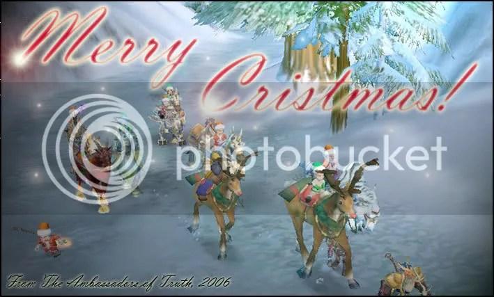 Ambassadors of Truth Christmas Card of 2006