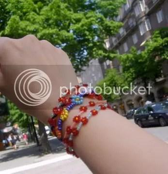Swedish bracelet model