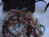 Daisy chain bead bracelets