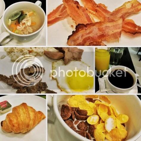 Greenleaf Hotel GenSan's Breakfast Buffet. Image editing by Klyde Jarabelo.