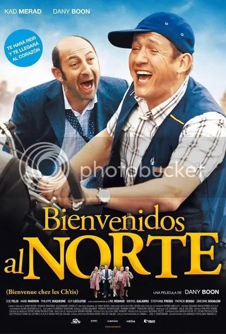 Poster español de Bienvenue chez les Chtis