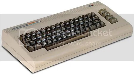 VINTAGE. La Commodore 64, tan popular como No toca botón.