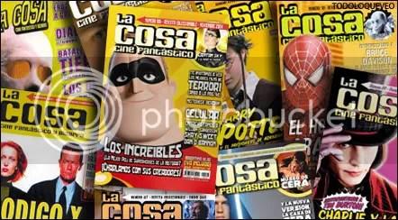 Algunas tapas de La Cosa, de estos últimos años.