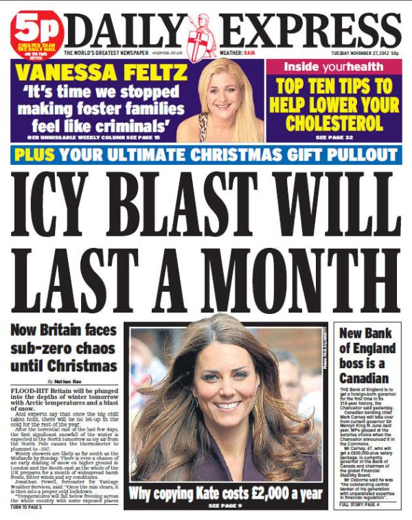 Papers Front Pages Today Uk