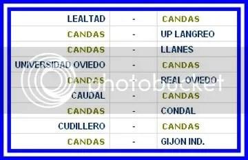 CALENDARIO CANDÁS