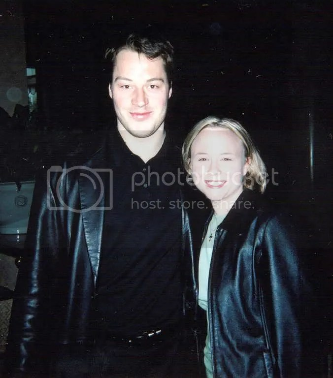 Petr and me, Dallas 2003