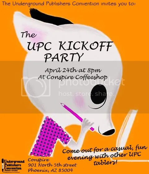 kickoff party flyer