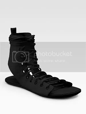 Ann Demeulemeester,corset boot,flat lace up boot