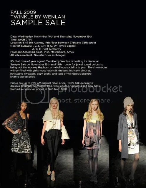 twinkle,twinkle by wenlan,sample sale,nyc,sample sales,The Greyest Ghost