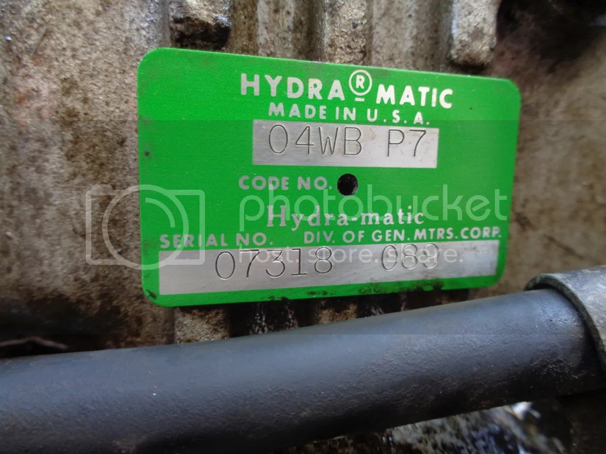 Manual Identification Transmission Truck Gm