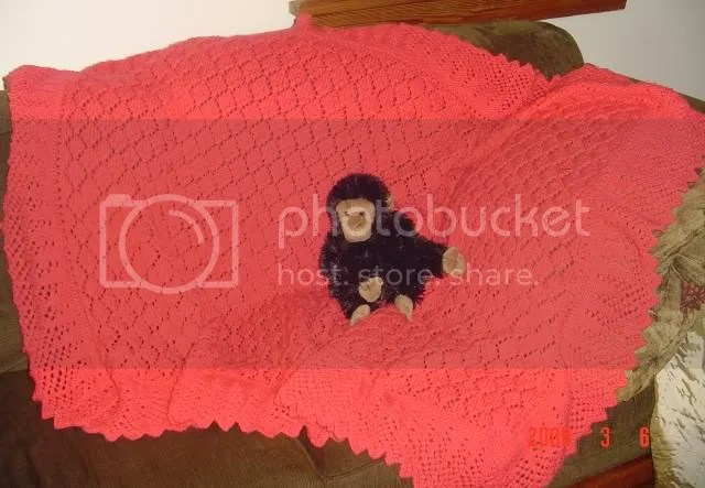 spanish christening shawl
