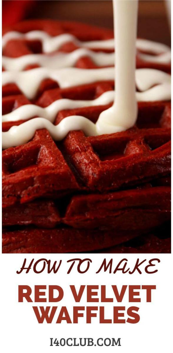 Waffle Day: How to Make Red Velvet Waffles