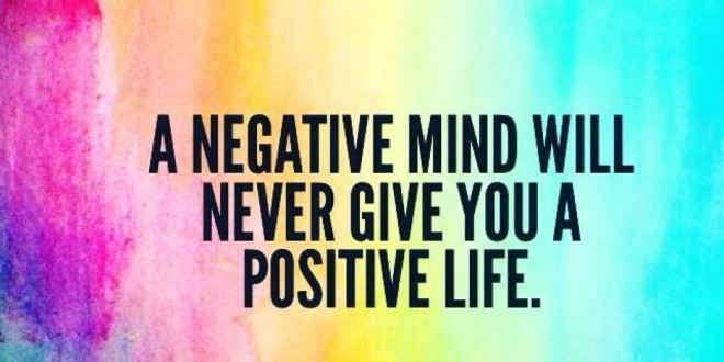 women and negative thoughts