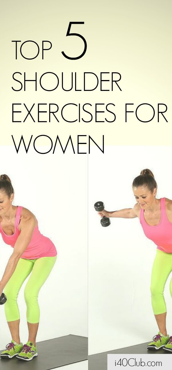 Top 5 Shoulder Exercises for Women