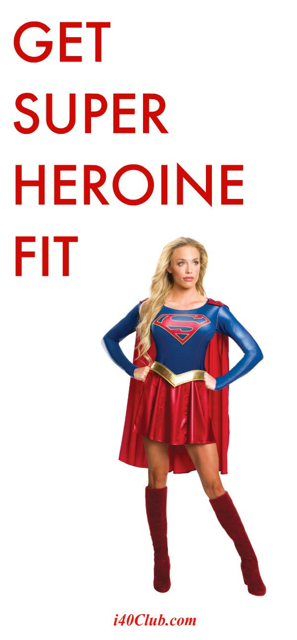 Get Superheroine Fit