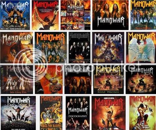 Discografia]: Manowar - Discography (1982-2009) [FLAC]