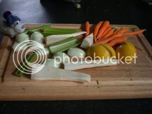 prepper vegetables