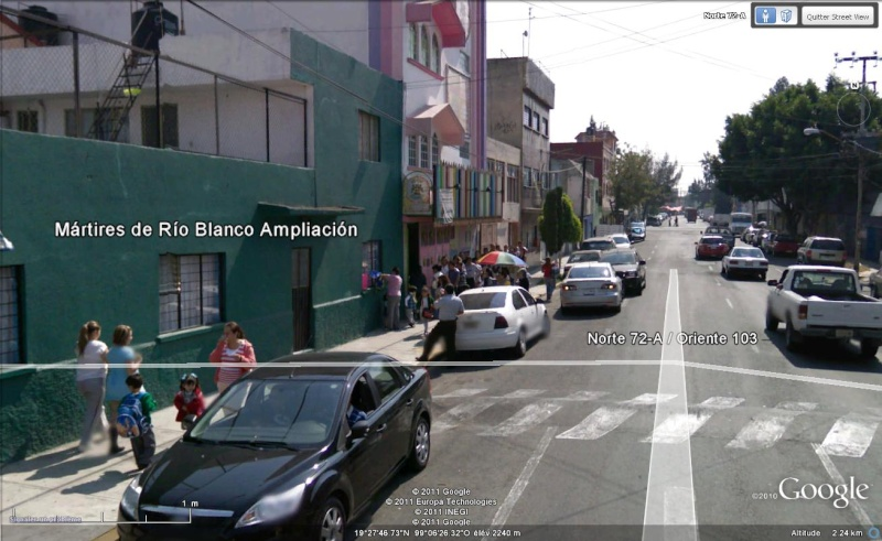 Google Earth Street View Mexico