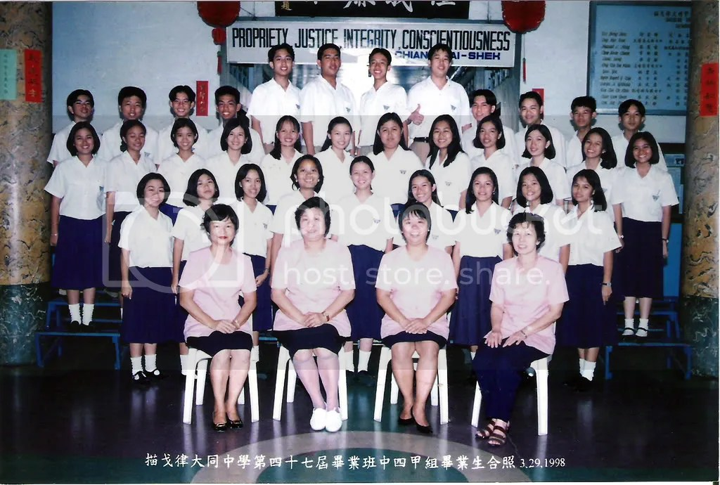 4th Year A Chinese Class
