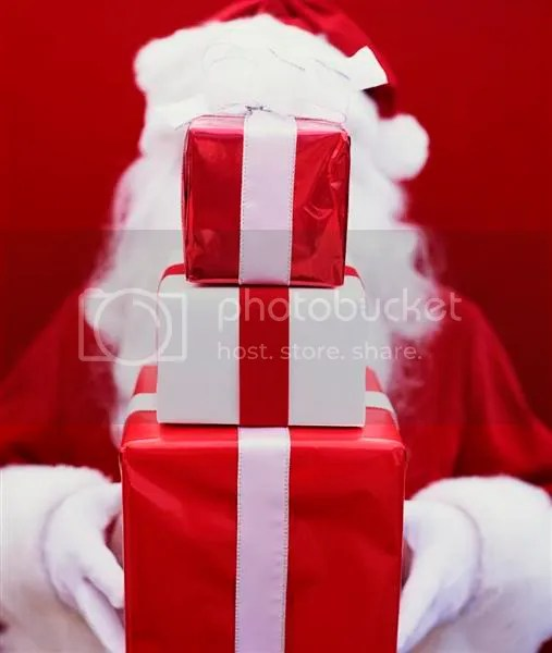 Shy Santa Pictures, Images and Photos