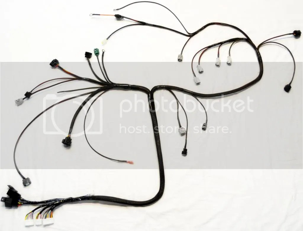New 4a Ge 20v Blacktop Engine Harnesses