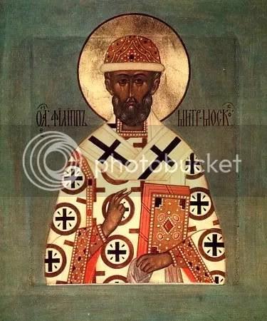 St Phillip, Metropolitan of Moscow, d. 1569