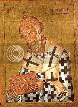 Sainted Spyridon of Trimyphunteia